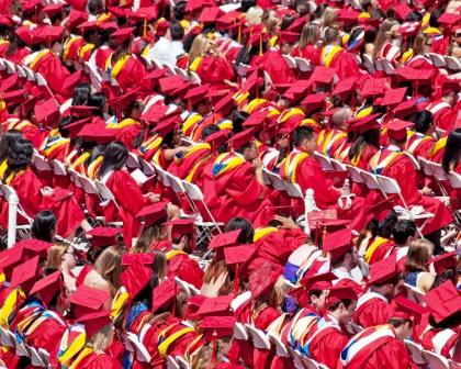 Graduates at Stony Brook University