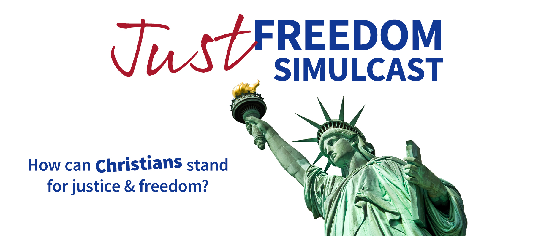 Just Freedom Banner